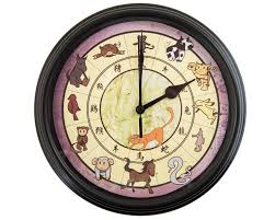 fruits basket chinese zodiac wall clock anime wall clock