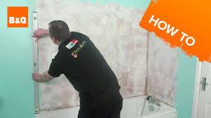 how to tile a bath splashback part 1 preparation youtube