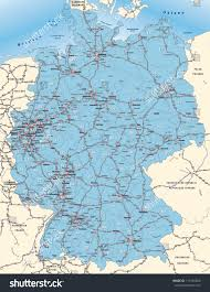 Map Og Germany by Map Germany Postcodes Blue Stock Illustration 171450698 Shutterstock