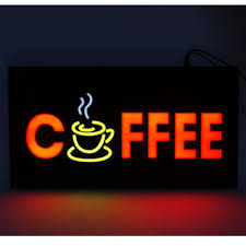 shop open sign lights new coffee led shop open signs massage business led open sign