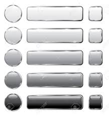 Computing Square Footage Vector Gray Buttons For Computing And Web Royalty Free Cliparts