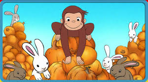 curious george coloring pages bring ice cream halloween boo fest