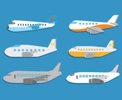cartoon plane vector vector art u0026 graphics freevector com