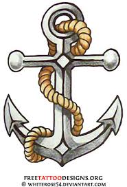 traditional tattoos anchor ship pin up and