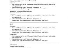 Resume Examples College by Resume Template For College Students Httpwww Resumecareer Good