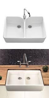 Best Ceramic Kitchen Sinks Images On Pinterest Ceramic - Double ceramic kitchen sink