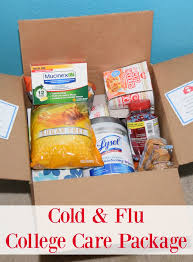 sick care package for cold flu college care package the tiptoe fairy