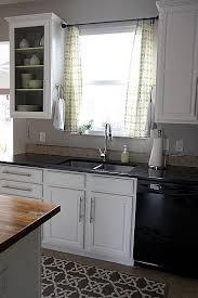Diy Kitchen Curtain Kitchen Curtain Rods Kitchen And Decor