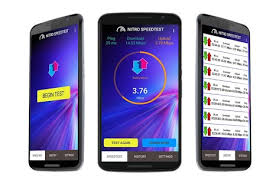 mobile speed test android nitro speedtest wifi broadband speed test android apps