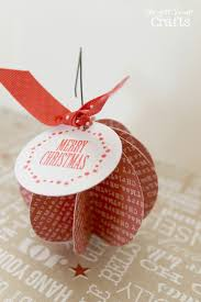 easy paper ornament ginger snap crafts lines across