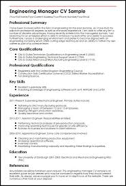 Electrical Engineering Resume Samples by Engineering Cv Download Engineering Resume Templates Marvellous