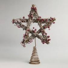rustic tree topper foter