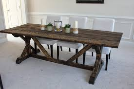 Extendable Dining Table Plans diy farmhouse dining table plans hahnow