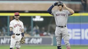 Houston Astros Memes - tiny altuve standing next to huge judge gets meme treatment