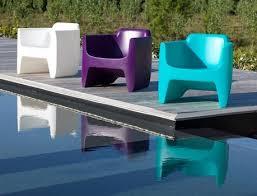 canap ext rieur design fauteuil de salon de jardin couleurs flashy fauteuil design