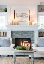 Fireplace Decorations Ideas Best 25 Cottage Fireplace Ideas On Pinterest Living Room Fire