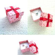 boxes for gifts wholesale cheap cardboard jewelry lot pink