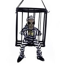 mechanical halloween decorations halloween jail decorations