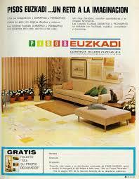 home decor ads 1970 home decor ad pisos euzkadi lengua española revista flickr