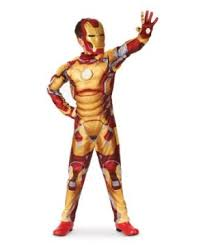 Light Halloween Costumes Iron Man 3 Mark 42 Muscle Light Kids Costume Boy Superhero