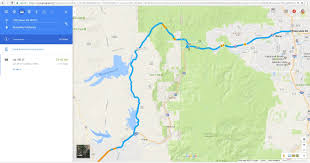 Google Map Route by Cars Stranded On Dog Valley Road When Google Maps Suggests