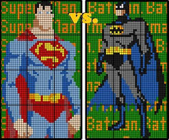 colouring sine u0026 cosine laws batman superman 12 sheet
