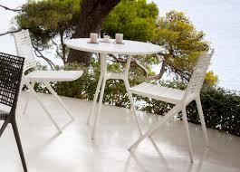 Garden Bistro Table Tribu Branch Round Garden Bistro Table Tribu Outdoor Furniture