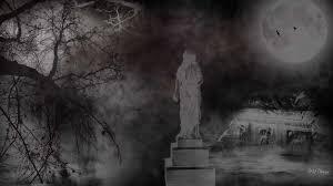 happy halloween graveyard background halloween scary spooky cemetery