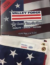 Flags Made In Usa Valley Forge Brand American Flags Are Made In Usa Entirely Of