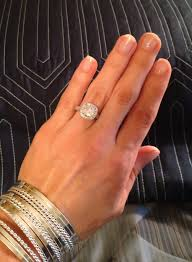 5 Carat Cushion Cut Engagement Rings Love My Gorgeous New Ring 2 Carat Center Cushion Cut Diamond W