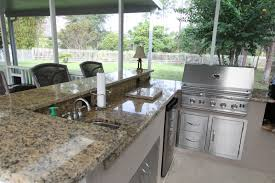 Outdoor Kitchen With Sink Outdoor Kitchens Lifetime Enclosures