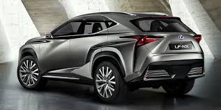 lexus crossovers uautoknow lexus debuts lf nx crossover concept ahead of