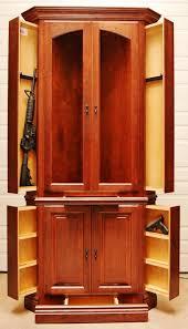 gun cabinet for sale gun cabinet wooden surround coryc me