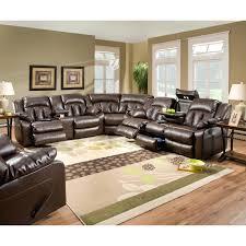 Simmons Soho Sofa by Simmons Leather Sectional Sofa