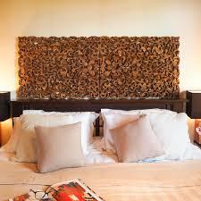 tropical frond king size headboard siam sawadee