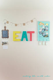 Kitchen Gallery Wall by Eat Sign Kitchen Gallery Wall