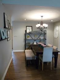 Contemporary Chandelier For Dining Room by The Happy Homebodies The Evolution Of A Dining Room