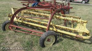new holland 258 hay rake item dt9678 sold march 22 ag e