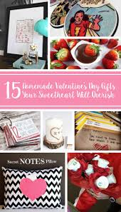 Homemade Valentines Day Gifts by 15 Homemade Valentine U0027s Day Gifts For Your Sweetheart