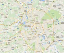 Moscow Map Map Of Moscow Travel
