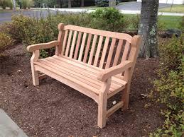 cedar bench woodworking blogs videos free project plans