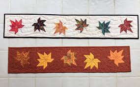 Fall Table Runners by Maple Leaf Table Runner I Finally Have Time