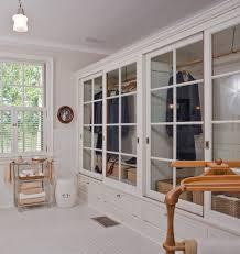 Sliding Glass Closet Doors Glass Closet Doors Bathroom Contemporary With Bath Sink Closet
