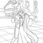 princess rapunzel prince flynn dancing activity wedding