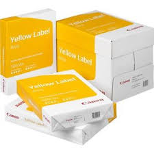paper ream box canon yellow label a4 copy paper 5 reams 2500 sheets box printer