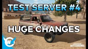pubg new map xbox pubg update 1 0 test server 4 patch notes huge changes new