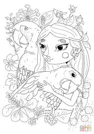 parrot coloring free printable coloring pages