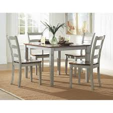 Gray Dining Room Ideas Grey Leather Dining Room Chairs Alliancemv With Image Of