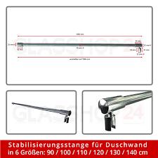 Esszimmerst Le Neu Ebay Stabilisierungsstange Duschwand Stange Walk In Dusche Wandhalter