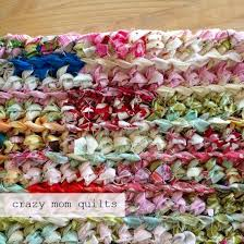 How To Rag Rug Best 25 Rag Rug Tutorial Ideas On Pinterest Braided Rug